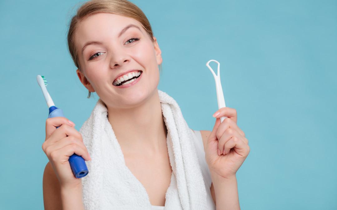 Bad Breath Try A Tongue Scraper Arbutus North Dental